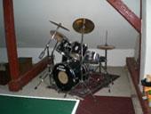 drumstel voor de muzikanten